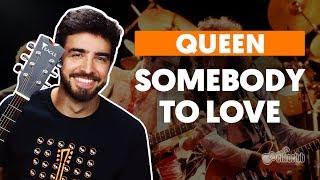 Videoaula SOMEBODY TO LOVE (aula de violão completa)