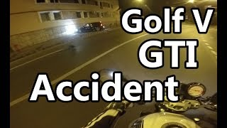 (Motor)BIke Live accident on camera