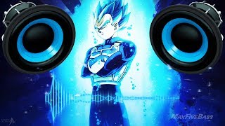 Dragon Ball Super - Vegeta Breaking His Limits (Trap Remix) (BASS BOOSTED)