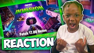 Fortnite INVASION Season 7 Reaction *I Missed Fortnite*
