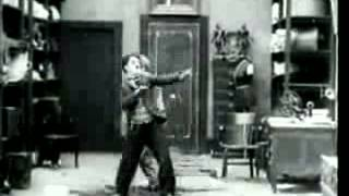 Charlie Chaplin fight scene in The Pawn Shop