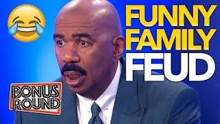 FUNNY FAMILY FEUD Moments With Steve Harvey   Bonus Round
