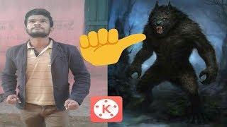 kine master  super power effect werewolf