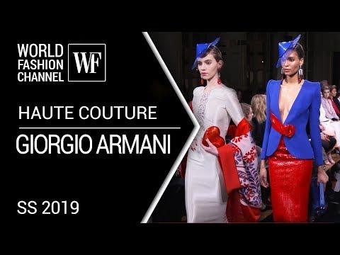 Giorgio Armani Prive Haute Couture SS 2019