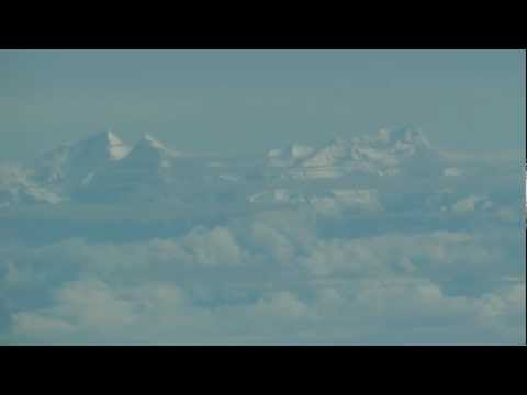 Himalayas over Nepal — Flight into Kathmandu