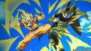 Goku SSJ vs Cell Perfect