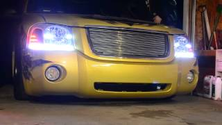 New headlights with custom Oracle Concept Strip Lighting