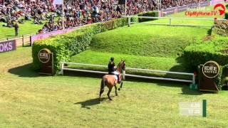 Deutsches Spring- und Dressur Derby 2015 - Janne Meyer mit Cellagon Anna