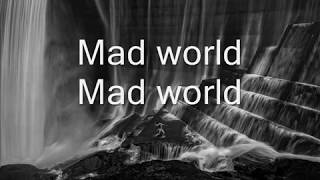 Gary Jules - Mad world [Lyrics] ft. Jasmine Thompson