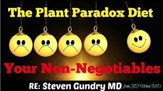 Steven Gundry MD - The Plant Paradox - Your Non-Negotiables