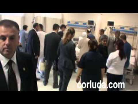 saglık bakanı çorlu devlet hastanesi mart2013