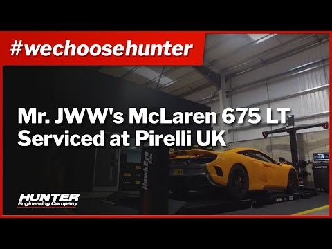 Mr JWW's McLaren 675LT & Pirelli UK - #Wechoosehunter