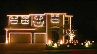 Dubstep Light Show - This is Halloween