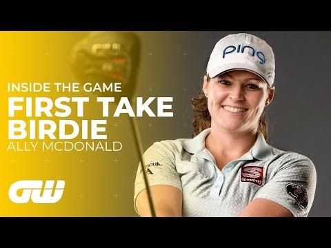 Ally McDonald Attempts the First Take Birdie Challenge | Golfing World