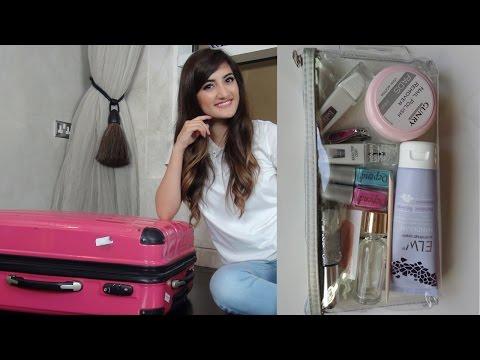 Packing a Suitcase with Deedee Polish كيفية ترتيب حقيبة السفر مع