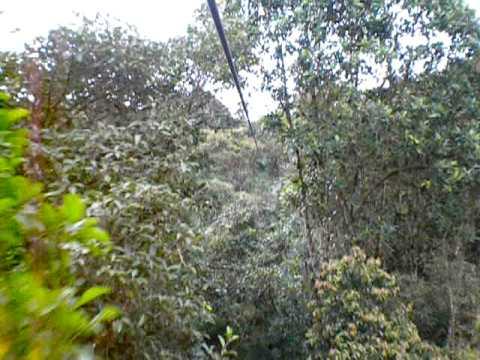 Zipline in Ecuador