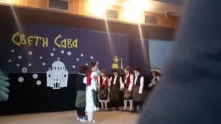 Sveti Sava OS Ivo Andric 27.1.2017, odeljenje I/4