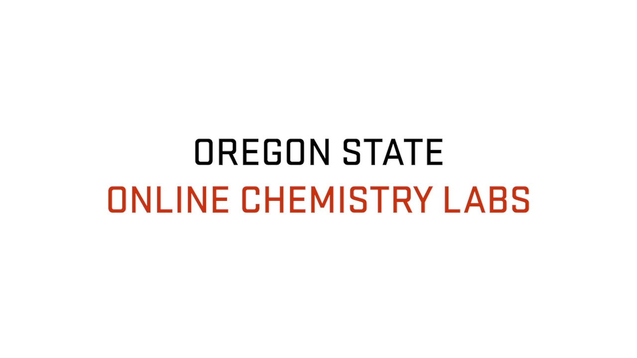 Oregon State Online Chemistry Labs
