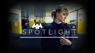 Marshmello x Lil Peep - SPOTLIGHT | Electric Violin Remix | Cover - Alfiya Glow