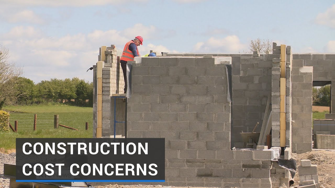 Irish Home Builders Express Concern about Increases in Construction Costs