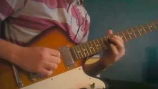 The Clairvoyant - Iron Maiden/Dave Murray & Adrian Smith - Guitar Solo Cover