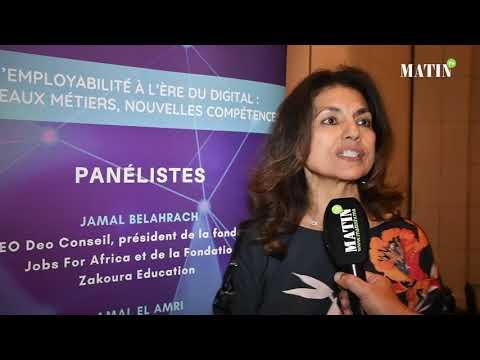 Video : Matinale sur l'employabilité à l'ère du digital : Déclaration de Amal El Amri, SG adjointe de l'UMT et SG de l'Union Syndicale Interbancaire