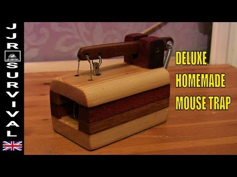 Deluxe Homemade Mouse Trap