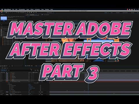 After Effects 2021 Tutorial 3