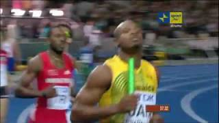 4x100 Relay Mens Final Athletics: World Championships width=