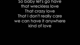 Wreckless Love - Alicia Keys [LYRICS]