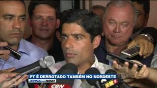 Só disputando em Recife, PT é derrotado nas outras capitais do Nordeste