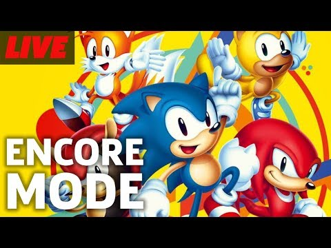 Sonic Mania Plus Encore Mode and More Live