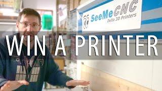 Win a SeeMeCNC Rostock Max V3 3D Printer Kit in Celebration of MRRF2017!