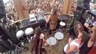 Live Psy rave party awesomene music