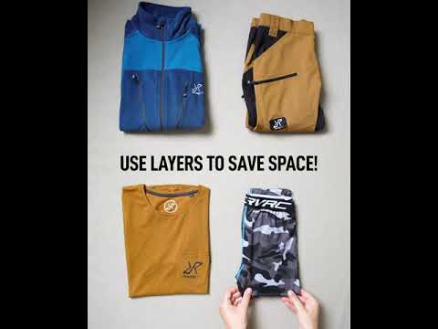 Packing Tip - Layers, layers, layers!