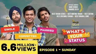 What's Your Status | Web Series | Episode1 - Sunday | Cheers! width=