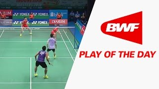 Play Of The Day | Badminton F - Yonex Sunrise Indonesian Masters 2016