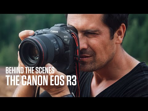 Behind the scenes with the Canon EOS R3 and Vladimir Rys