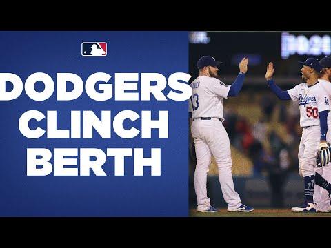 Dodgers CLINCH POSTSEASON berth for NINTH CONSECUTIVE SEASON!!