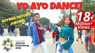 VIA VALLEN 'MERAIH BINTANG' DANCE IN PUBLIC   ASIAN GAMES 2018 OFFICIAL SONG   Choreo by Natya Shina