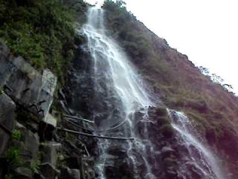 Waterfall in Baños, Ecuador, 2010.