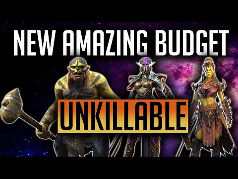 RAID | New Budget Unkillable team with ally attack! Nightmare and Ultra Nightmare!