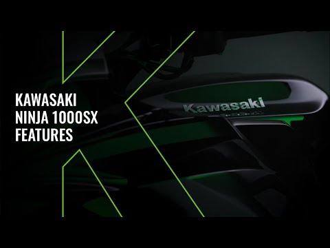 New Kawasaki Ninja 1000SX MY20 - Technical Video