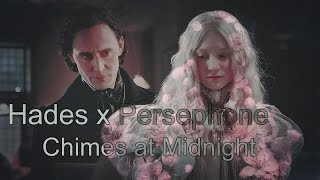 hades x persephone [Stoker ❀ Crimson Peak ❀ Jane Eyre] || chimes at midnight