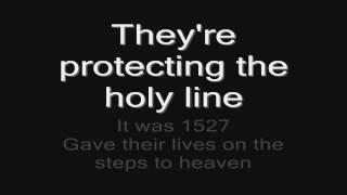 Sabaton - The Last Stand (lyrics) HD