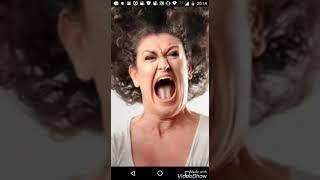 Mulher gritando eta glória!!!!!!! Kkkkkk