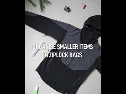 Packing Tip - Organizing Smaller Items