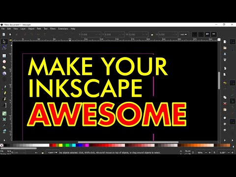 HOW TO MAKE YOUR INKSCAPE LOOK AWESOME – Tutorial for Complete Beginners (Preferences & Themes)