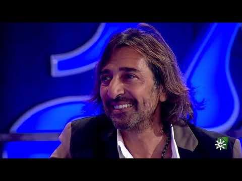 Antonio Carmona, sorprendido en el debut televisivo de su hija Marina.2021