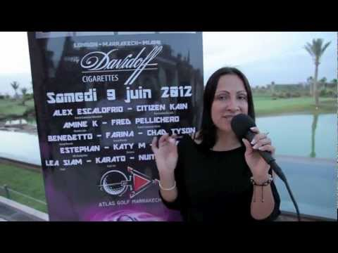 Promotion French connexion music festival by Davidoff cigarettes